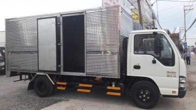 Xe tải ISUZU QKR55H 91PS 2.9 tấn thùng kín nâng tải giá rẻ