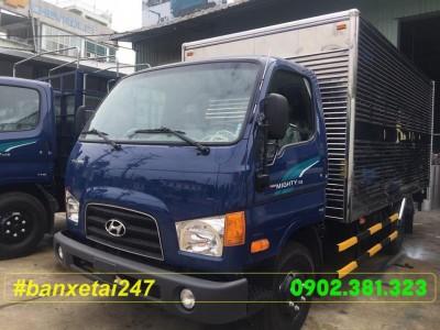 Xe tải Hyundai 1.8 tấn thùng kín HD75S 2018 EURO 4